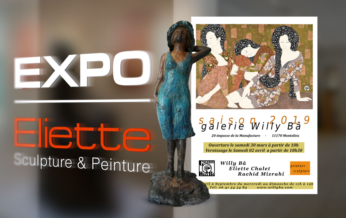 "Exposition ""Gallerie Willy Bâ"" à Montolieu"